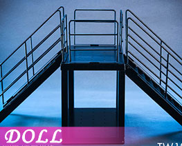 DL2139 1/12 All-metal Staircase Scene A (DOLL)