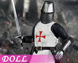 DL1378 1/12 Templar Knight (Doll)