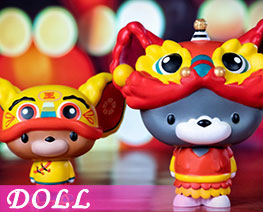 DL2939  Tom and Jerry Lion Dance Edition (DOLL)