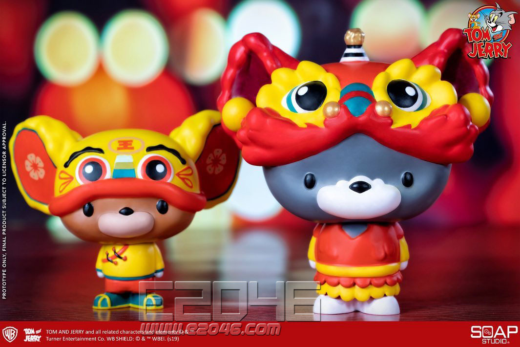 Tom and Jerry Lion Dance Edition (DOLL)