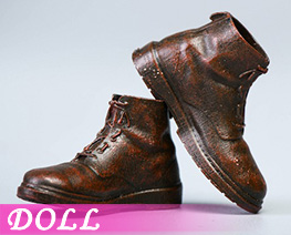 DL4850 1/12 Men's leather Boots B (DOLL)