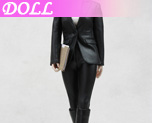DL0162 1/6 The Female Spy Leather Suit of style series