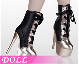 DL2750 1/6 Ankle Boot Gold (DOLL)