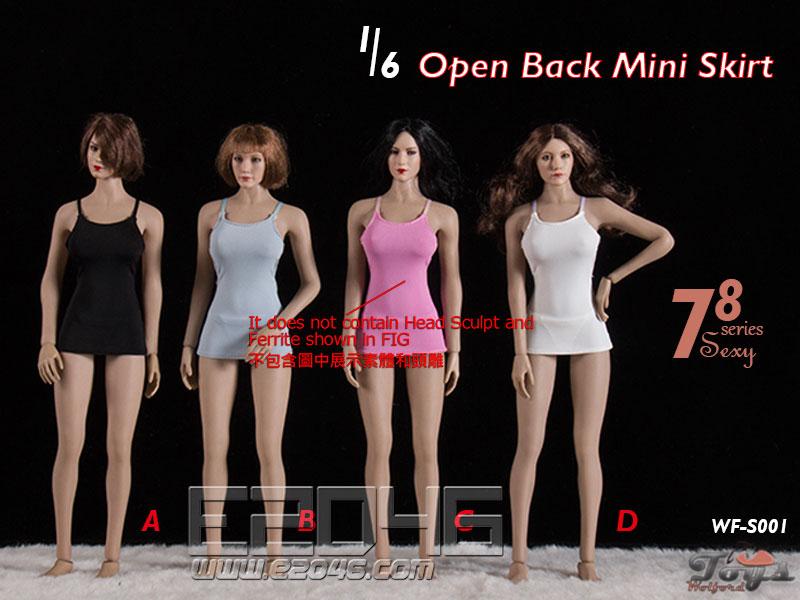 Open Back Mini Skirt E (DOLL)