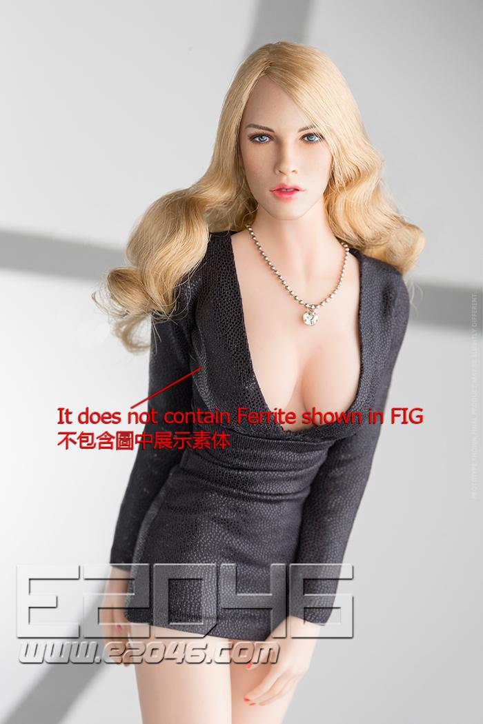 Fashion Short Dress Suit Black (DOLL)