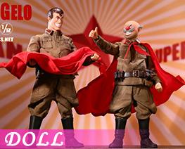 DL4837 1/12 Socialist SoldiersPair Set (DOLL)