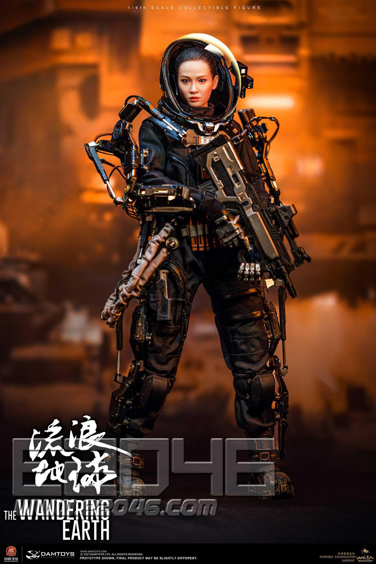 Wandering Earth Rescue Team Medical Soldier Zhou Qian (DOLL)