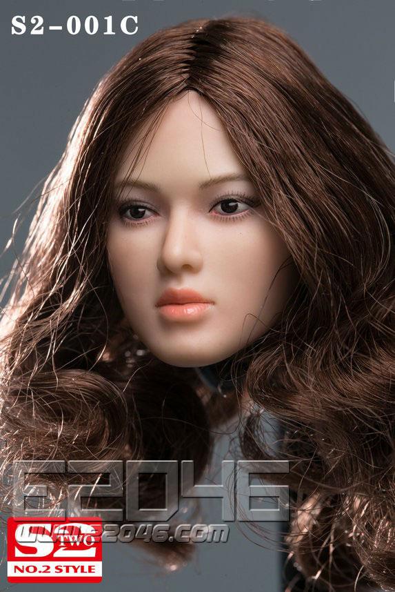 AsianFemale Head C (DOLL)