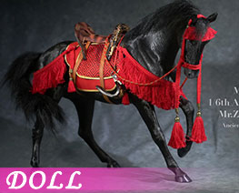 DL3613 1/6 Akhal Teke Horses  Set E (DOLL)