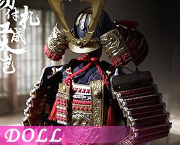 DL2196 1/6 金漆涂切付札红威大铠 (人偶)