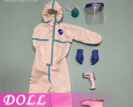 DL3339 1/6 Female Disposable Protective Clothing (DOLL)
