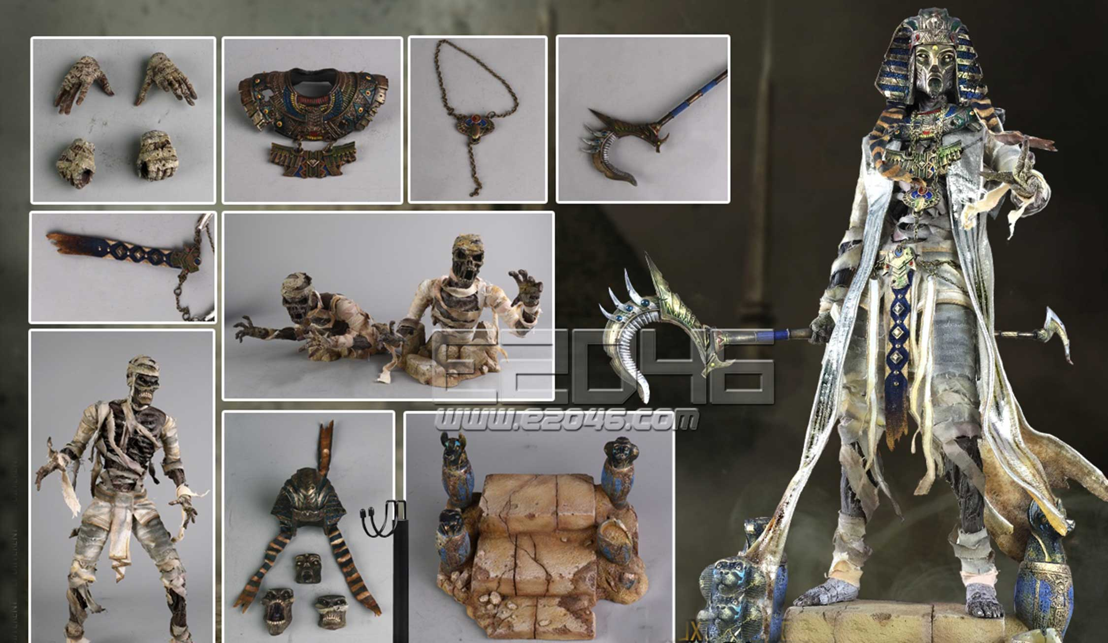 Monster  File The Mummy B (DOLL)