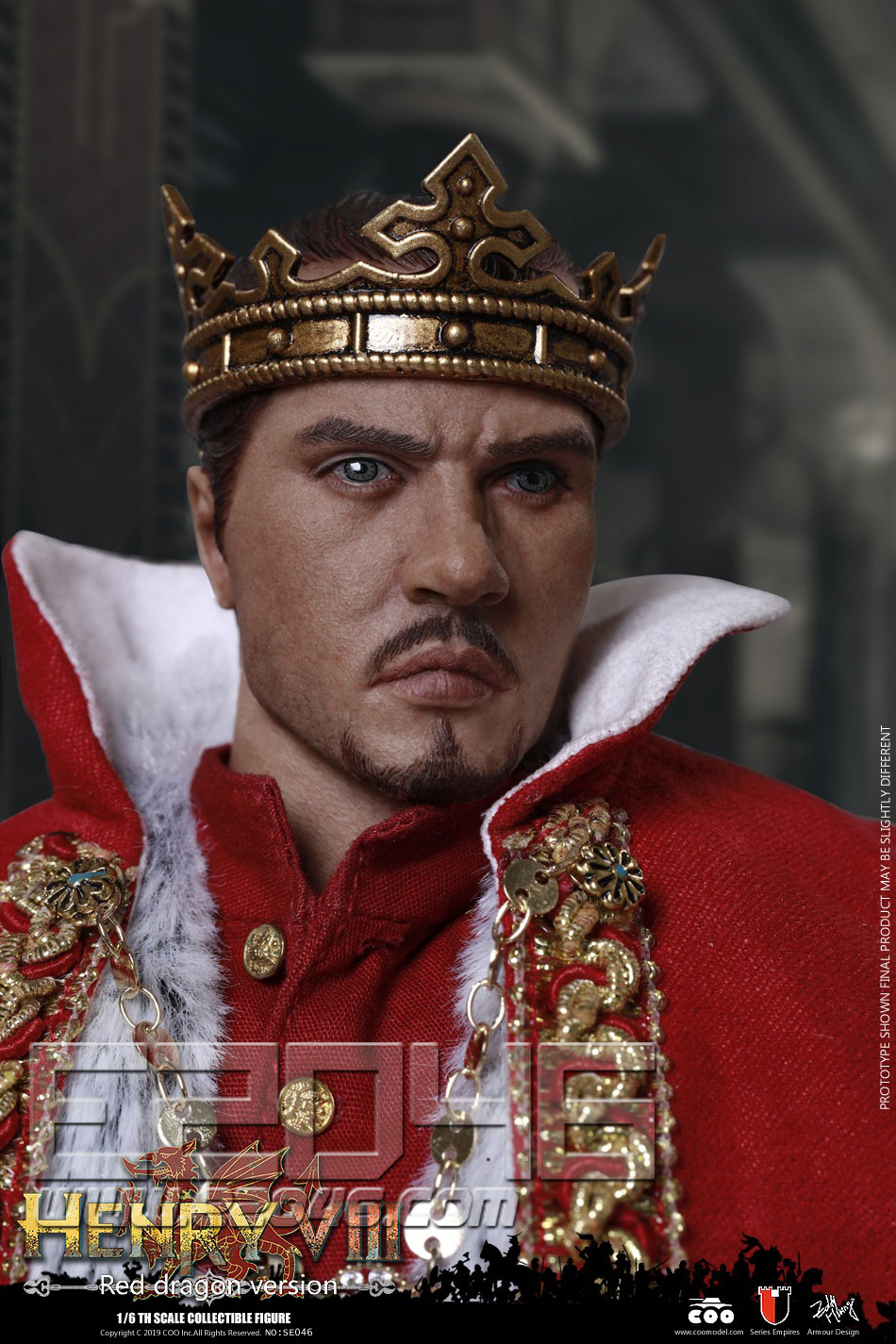 Henry VIII Red Dragon Version (DOLL)