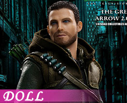 DL2099 1/8 The Green Arrow Deluxe Version (DOLL)