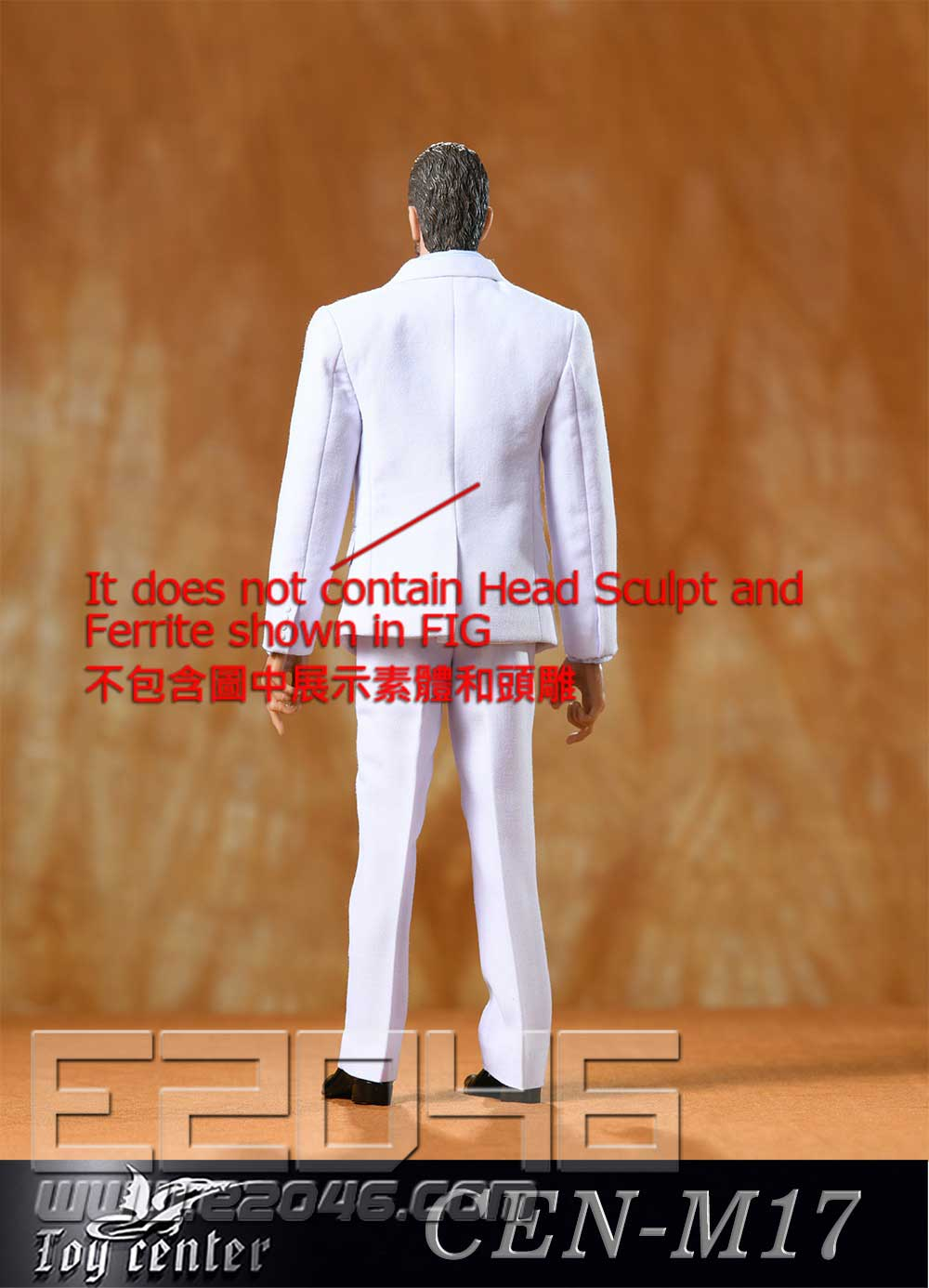 Gentleman Narrow Shoulder Suit D (DOLL)