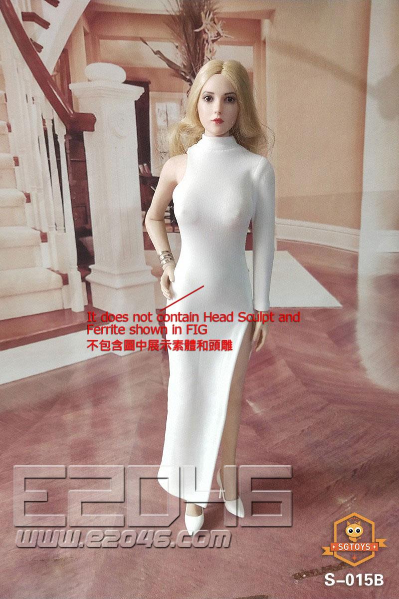 Evening Dress Long Skirt Suit B (DOLL)