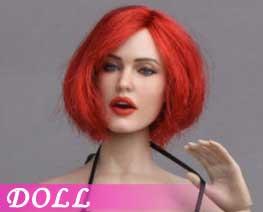 DL1447 1/6 Emoticon Female Head A (DOLL)