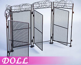DL3653 1/12 Fence Expansion Kit (DOLL)