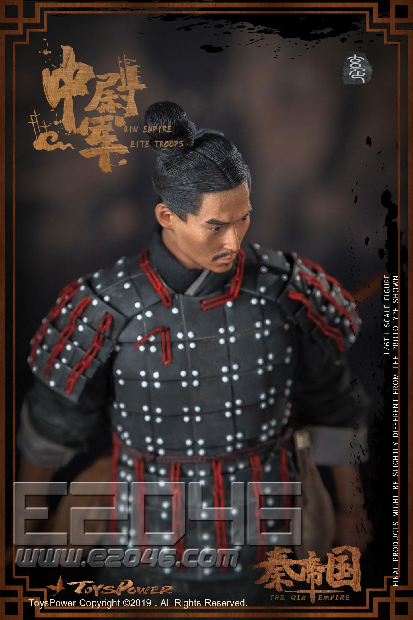 Terracotta Warriors B Black Color Version (DOLL)