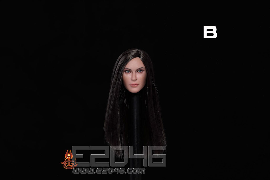 European And American Expression Female Head B (DOLL)