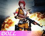 DL1225 1/6 Female Mercenary Heart King (Doll)