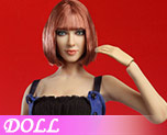 DL0540 1/6 Female head carved dress costume (Doll)
