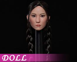 DL3795 1/6 亞洲美女頭雕 D (人偶)