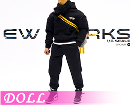 DL4184 1/6 Soldier Trend Sports Sweatshirt Suit B (DOLL)