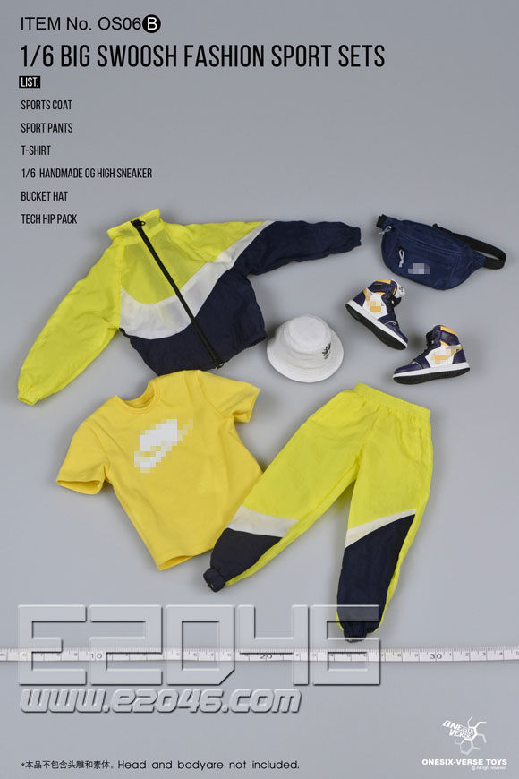 Trendy Sports Suit B (DOLL)