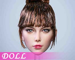 DL4660 1/6 Female Head Sculpture D (DOLL)