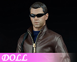 DL0958 1/6 Agent of leather suits (Doll)