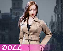 DL1737 1/6 Female trench coat suit A (DOLL)