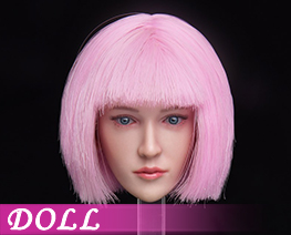 DL3831 1/6 Calm Expression Female Head A (DOLL)
