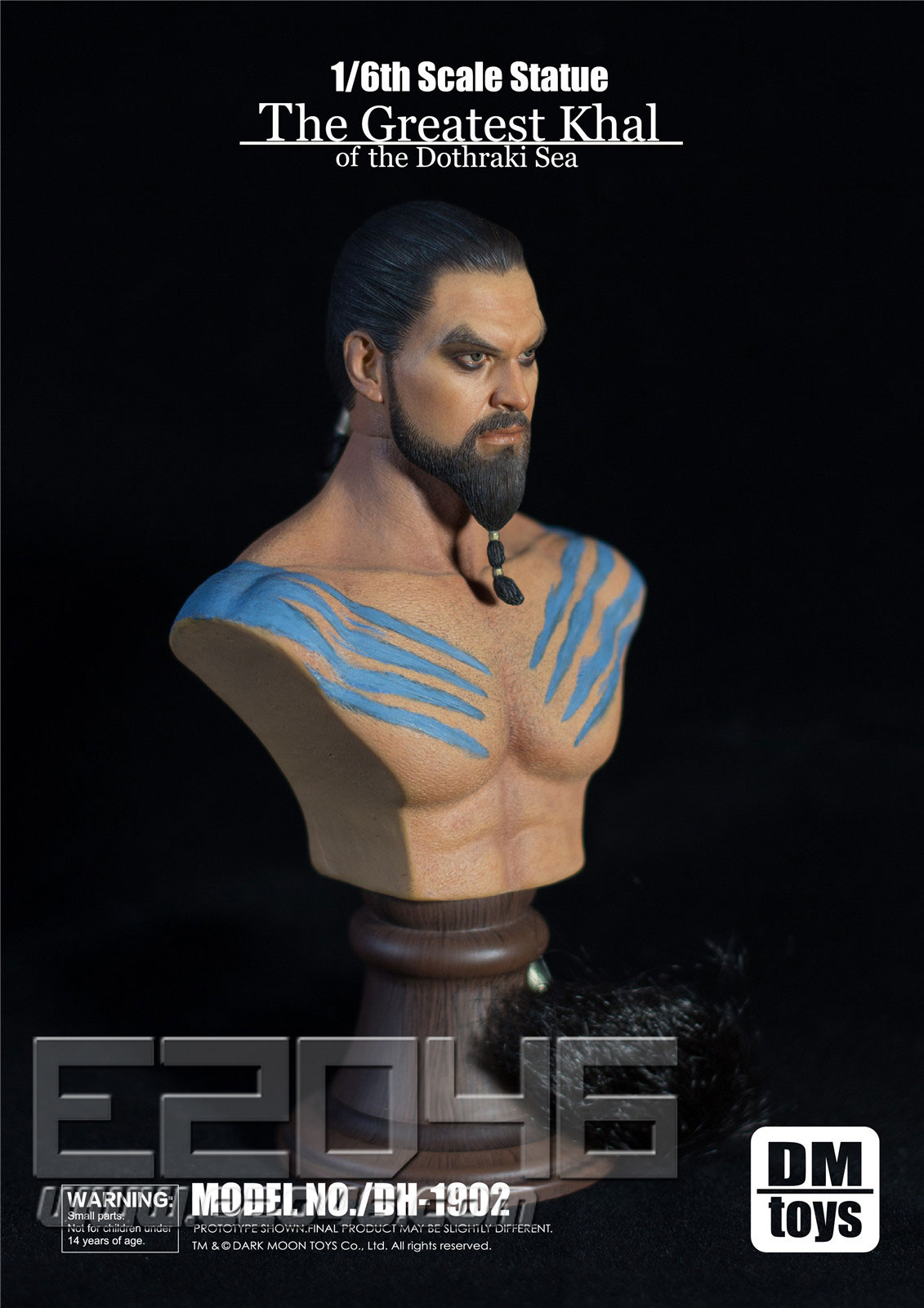 Khal Drogo Male Muscular Bust (DOLL)