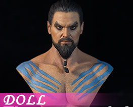 DL2301 1/6 Khal Drogo Male Muscular Bust (DOLL)