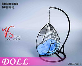 DL4534 1/6 Big Rocking Chair A (DOLL)