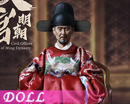 DL1869 1/6 Civil Officer of Ming Dynasty (DOLL)