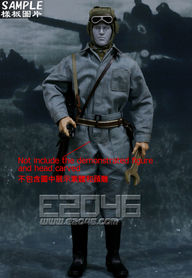 WWII Tank Corps Suit A (Doll)