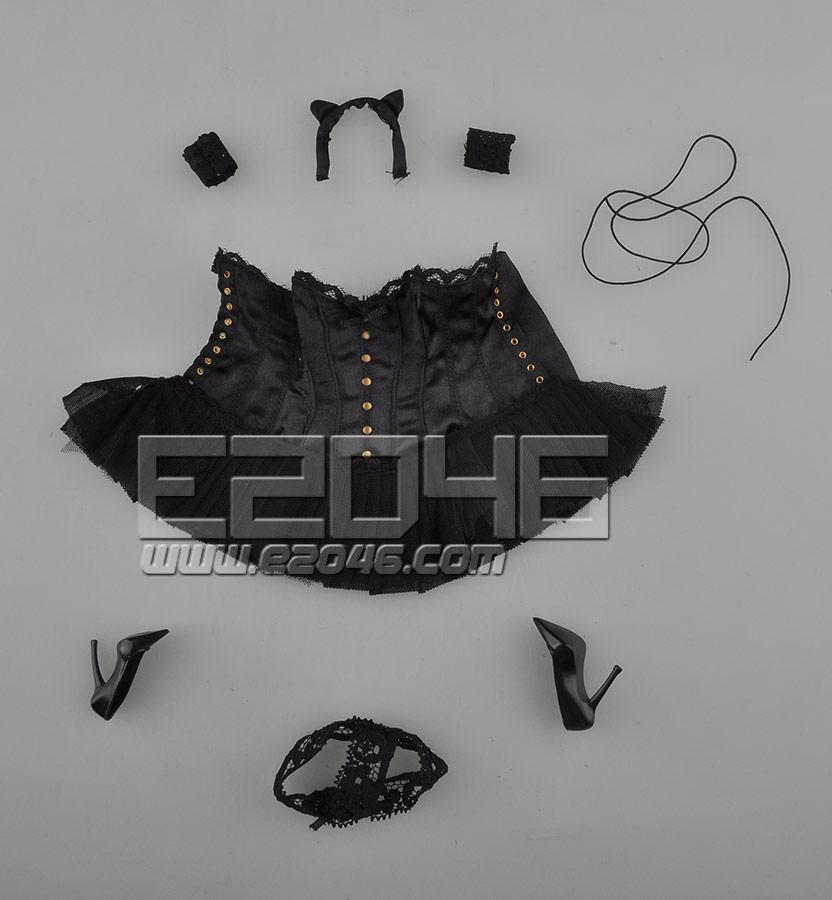 Sexy Basque corset Dress A (Dolls)