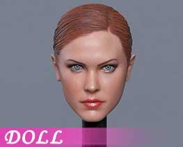 DL1618 1/6 European beauty killer head A (DOLL)