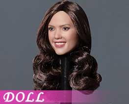 DL3038 1/6 Smiley Face Beauty Head C (DOLL)