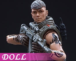 DL2511 1/18 CrossFire Wolf (DOLL)