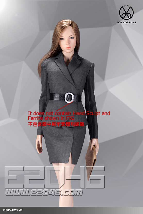 Female Suit Skirt Version B (DOLL)