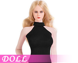 DL1921 1/6 Sexy lady double slit skirt suit D (DOLL)