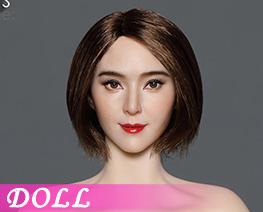 DL4496 1/6 Asian Beauty Head Sculpture D (DOLL)