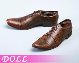 DL4848 1/12 Men's leather Shoes B (DOLL)