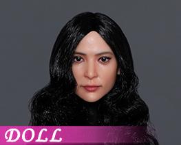 DL4028 1/6 Asian Beauty Head Sculpture D (DOLL)