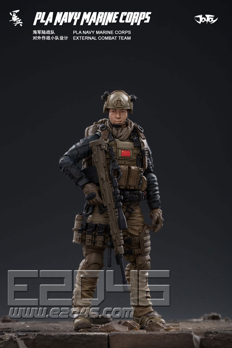 PLA海军陆战队对外作战小队 (人偶)