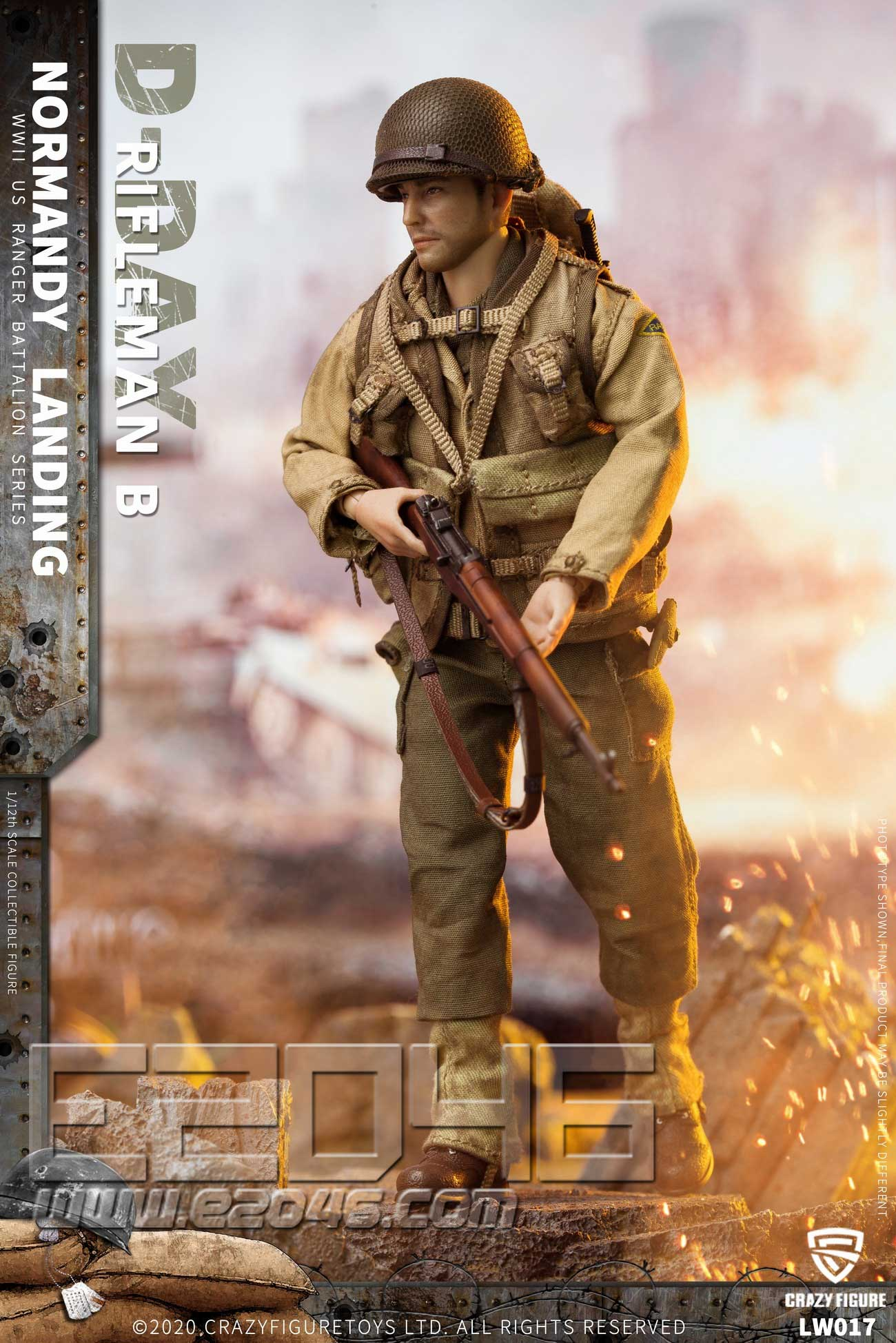 US Riflemen Of World War II A (DOLL)