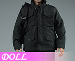 DL0606 1/6 Black Stealth Suit (Doll)